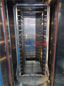 Mini Disel Diesel Chicken Bread 16 Trays Rotary Oven for Pizza Italy (ZMZ-16C) pictures & photos