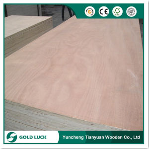 Okoume Face/Poplar Back Plywood for Door Application pictures & photos