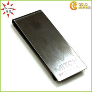 Cheap Wholesale Blank Metal Money Clip with Customized Logo pictures & photos