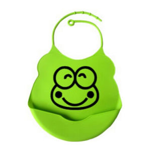 Soft Silicone Baby Bib with FDA Certification pictures & photos