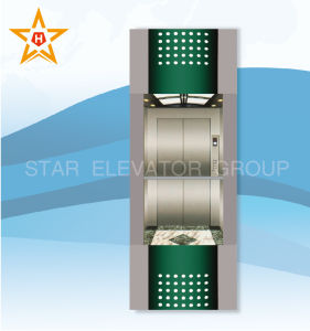 Sightseeing Elevator (square type) with Glass Wall Xr-G15
