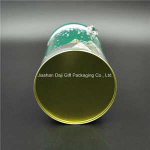 Round Tin Box for Tea/Coffee with Christmas Design (D001-V1) pictures & photos
