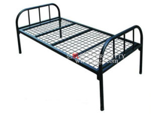 School Sbed for Student Dormitory Single Steel Bed pictures & photos