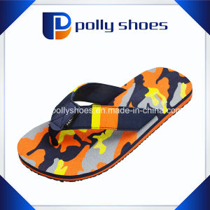 Novelty Mens Casual Flip Flop Summer Beach Flat Sandals pictures & photos