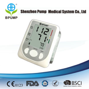 Portable Wrist Electronic Sphygmomanometer with CE & FDA Approved