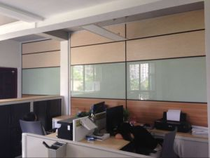 Demountable Partition Wall with Solid Panel pictures & photos