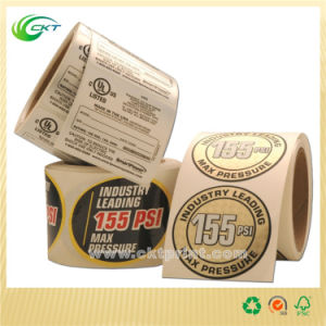 Printable Sticker Roll Paper in China (CKT-LA-668) pictures & photos