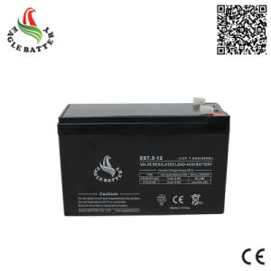 12V 7.5ah Rechargeable Lead Acid Battery for UPS