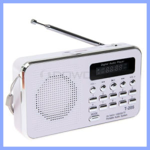 T-205 Portable HiFi Card Speaker Digital Multimedia Loudspeaker Camping Hiking Outdoor Sports FM Radio Speaker pictures & photos