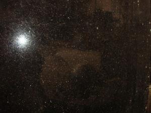Black Granite Slab Black Galaxy Granite pictures & photos