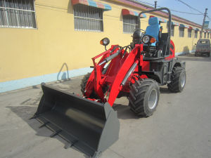 Huizhong Small Loader Hzm910 Mini Front End Loader Zl10 pictures & photos