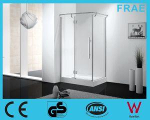 Rectangular Hinge Open Shower Enclosure Glass Door pictures & photos