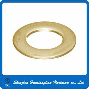 DIN125 DIN9021 Standard Brass/Copper Large Flat Gasket Washer pictures & photos