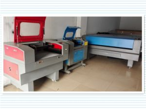 Two Heads Laser Cutting and Engraving Machine for Garment Industry pictures & photos