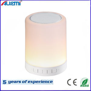 Wireless Night Light Colorful Touch Lamp Speaker LED Bluetooth Speaker