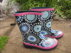 Girl Rubber Rain Boots Stock Boots Stock Rain Boots Stock 15741 pictures & photos