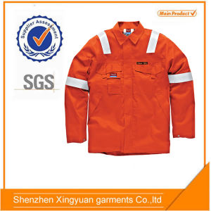 Orange Aramid High Perfoemance Flame Retardant Safety Jacket