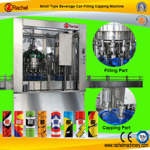 Small Carbonated Beverage Can Filling Machine pictures & photos