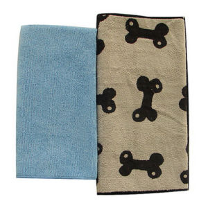 Ultra Soft Microfiber Towel with Pet Pattern (MPT-9001) pictures & photos