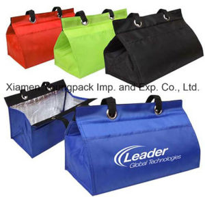 Promotional Polyester Insulated Lunch Tote Bag for Cooler pictures & photos