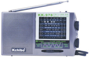 Kk-978 FM (TV) /MW/Sw1-7 Receiver Radio with Kchibo