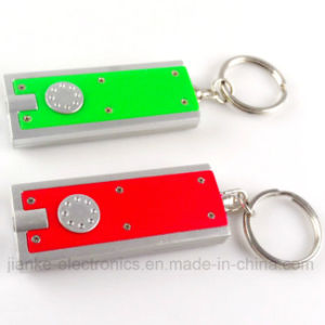 High Quality Flashing LED Key Chain with Logo Print (3672) pictures & photos