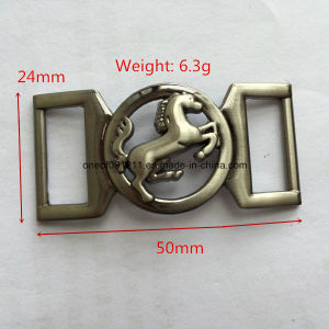 Horse Pattern Decorative Shoe Hardware Buckle pictures & photos