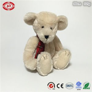 Beige Plush Fluffy Soft Sitting Animal Teddy Bear Toy pictures & photos