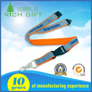 Supply Custom Fashion Style Good Quality Colorful Reflective Lanyard pictures & photos