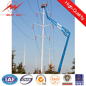 12m Tapered Conical Steel Utility Poles for Electrical Line pictures & photos
