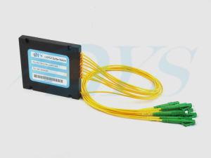 1X2/1X4/1X8/1X16/1X32/1X64 Fiber Optic PLC Splitter pictures & photos