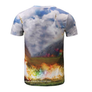 Wholesale New Design 3D Printed T-Shirt (A027) pictures & photos