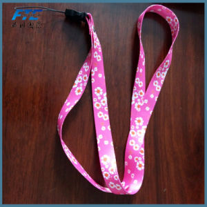 Custom Polyester Lanyard with Metal Alligator Clip and Safety Breakaway pictures & photos
