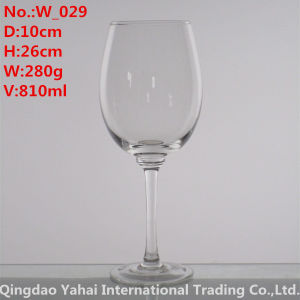 810ml Clear Colored Wine Glass pictures & photos