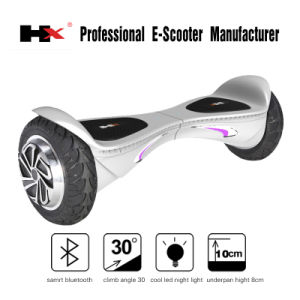 Two Wheeler Electric Scooter, Dual Wheel Personal Electric Smart with Bluetooth Speaker