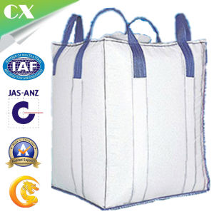PP Woven FIBC Bulk Jumbo Big Mesh Bag with 4 Cross Corner Loops pictures & photos