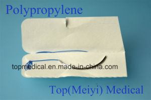 Surgical Suture - Polypropylene Monofilament Surgical Suture with Needle pictures & photos