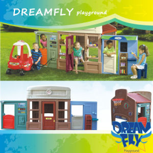 Interesting Fairy Tale Kids Plastic Toy Playhouse