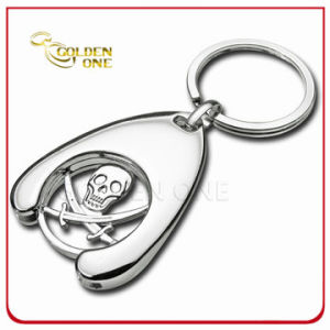 Personalized Pirate Metal Trolley Coin Holder Key Chain pictures & photos