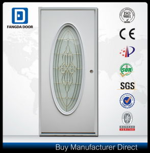 Fangda Oval Glass Steel Door, Used for Bathroom, Typical Standard Bathroom Door Size pictures & photos