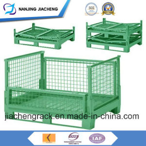 Warehouse Power Coated Stacking Container Pallet for Sales pictures & photos