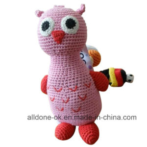Cute Design Hand Crochet Baby Kid Owl Toy  Doll pictures & photos