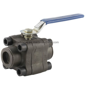 Forged Steel 3PC Ball Valve pictures & photos