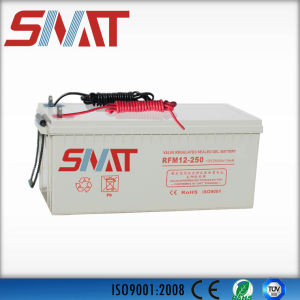 12V250ah Gel Battery for Solar Power System pictures & photos