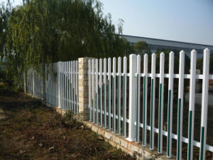 Conch Type II Factory Fencing UPVC Garden Fence pictures & photos