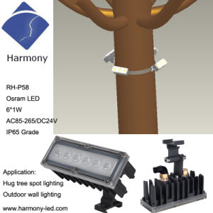 Waterproof IP66 Osram 6W High Power LED Garden Light pictures & photos