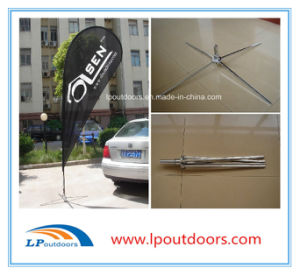Wholesales Cross Base Beach Teardrop Flag Flying Advertising Banner pictures & photos