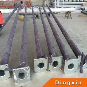 7m Hot Deep Galvanized Round and Conical Street Lighting Pole pictures & photos
