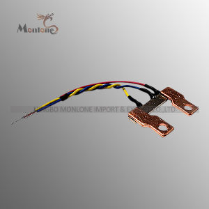 Three Phase Electricity Meter Welding Shunt Strip with Wires (MS017) pictures & photos