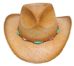 Cowboy Straw Hat Straw Hat (H-16) pictures & photos